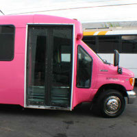 Pink Party Bus Houston