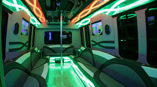 Houston Party Bus Called the White Tiger